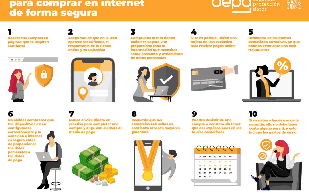 10 consejos básicos para comprar en internet de forma segura